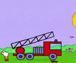 Didou, dessine-moi un camion de pompier