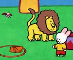 Didou, dessine-moi un lion