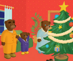 Petit Ours brun attend Noël