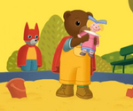 Petit Ours brun est un super héros