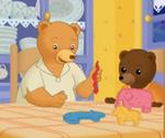Petit Ours brun et la baby-sitter