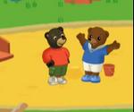 Petit Ours brun trouve un copain