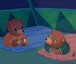 Petit Ours brun va dormir chez son cousin