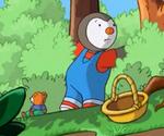 T'Choupi dans la forêt